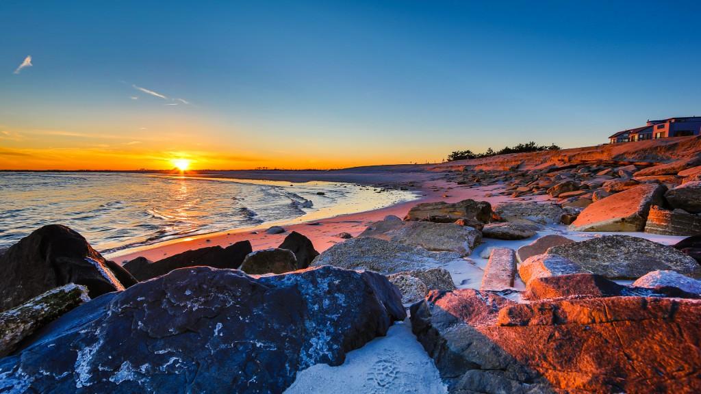 Manahawkin, NJ, photographer Greg Molyneux's HDR photograph of Holgate, NJ at sunset. This HDR photograph overlooks the Edwin B. Forsythe National Wildlife Refuge