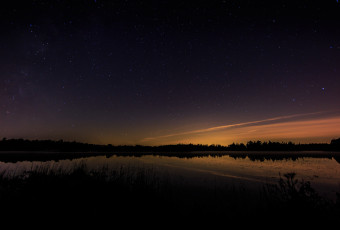 Wide angle astrophotography from Stafford Forge Wildlife Management Area
