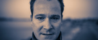 Photographer Greg Molyneux practices portraiture on himself