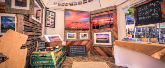 Photo of Greg Molyneux Photography display tent at The Makers Festival 2016