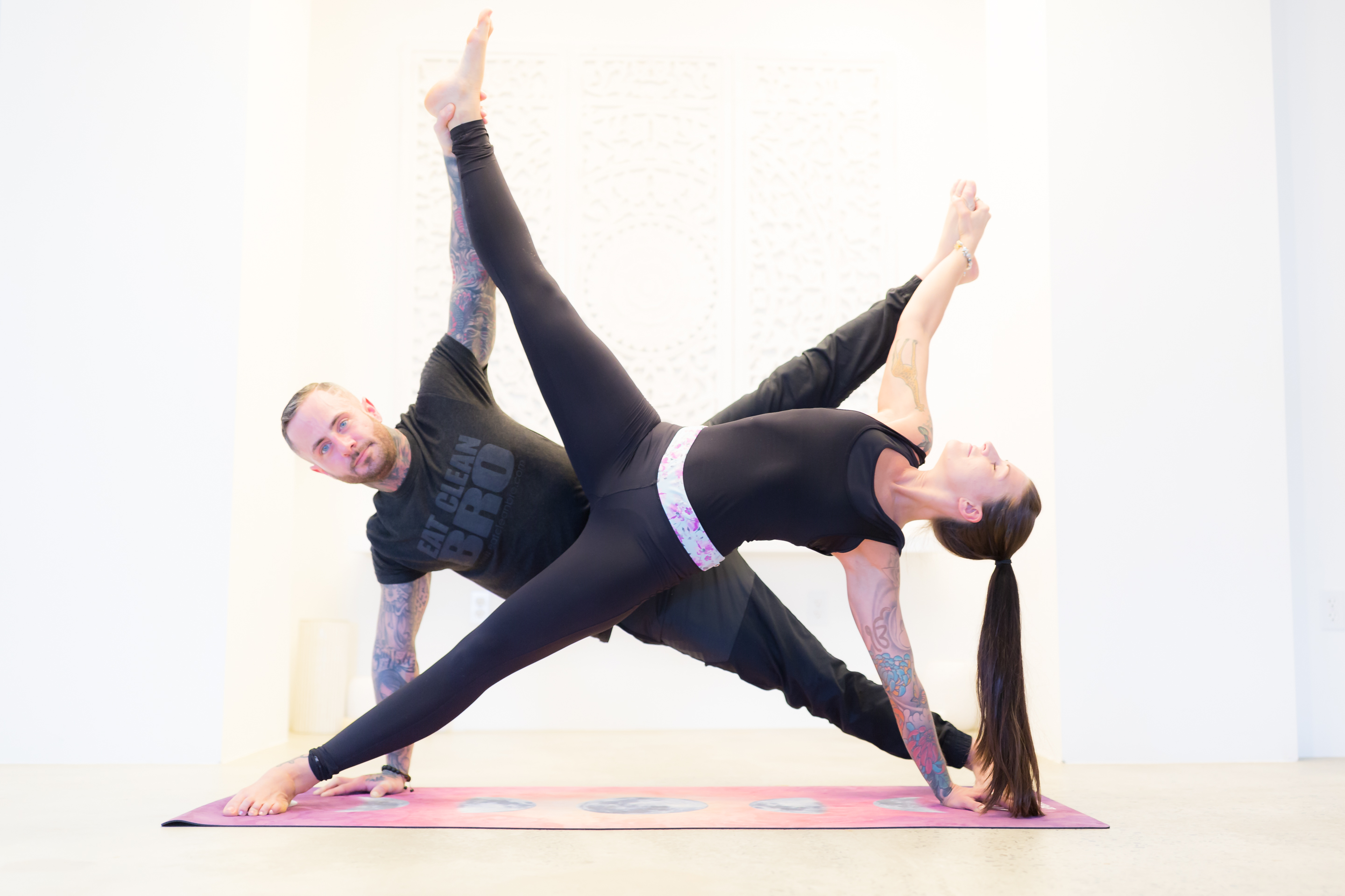 Pictures Of Partner Yoga Poses